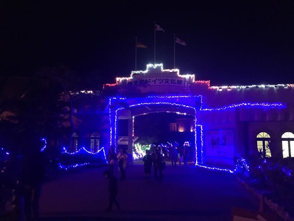 宮古島からみなさまへ!merry Xmas&上野ドイツ村のイルミネーション!